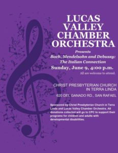 Lucas Valley Chamber Orchestra 2019