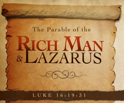 Rich Man & Lazarus Luke 16:19-31